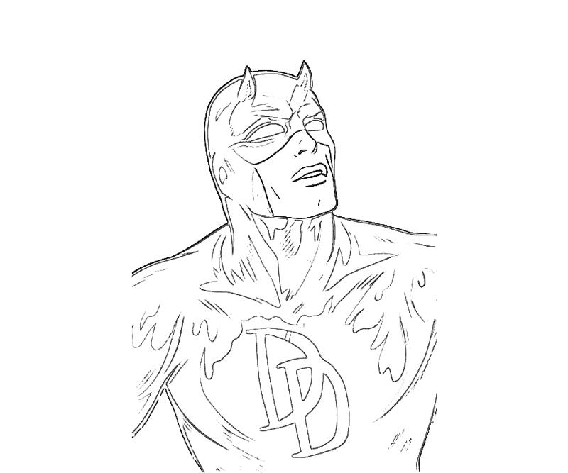 daredevil coloring pages - photo#6
