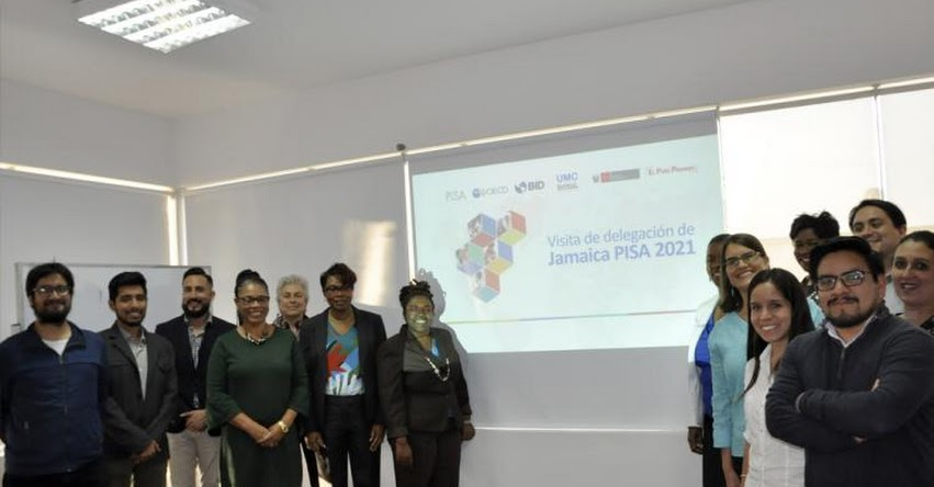 Delegación de Jamaica visito Perú para conocer nuestra experiencia en PISA