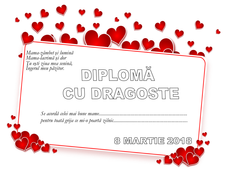 Diplome pentru mame