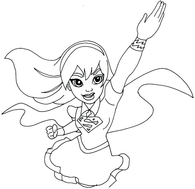 hawkgirl coloring pages kids australian flag coloring pages free supergirl coloring pages kids - Superhero Girl Coloring Pages
