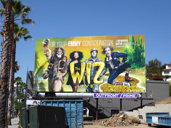Wiz Live 2016 Emmy billboard Sunset Strip