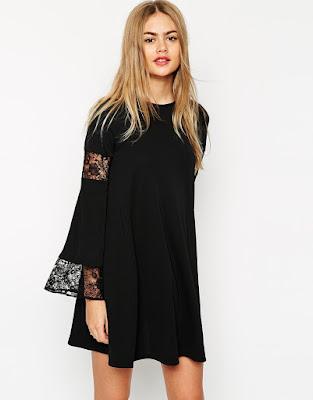 vestidos de noche cortos con brillo