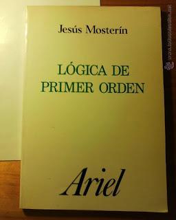 Lógica de primer orden / Jesús Mosterín