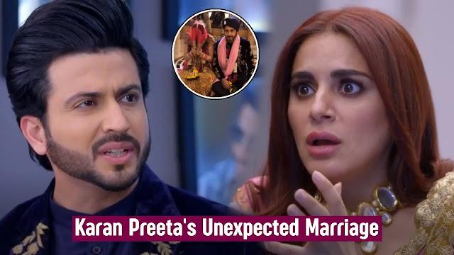 Finally Karan accepts Preeta as wife goes against family in Kundali Bhagya