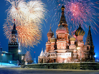 Celebrate New Year With Your Russian Gilfriend