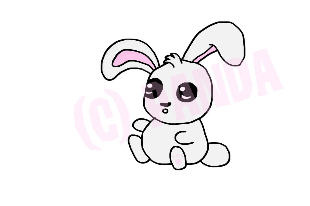 Animal jam graphic central first digital bunny art for my first digital art using a drawing tablet and photoshop i think it was reasonable p ccuart Choice Image