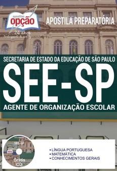 Apostila Agente de Organização Escolar SEE-SP