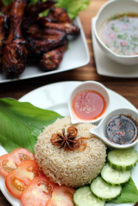 Nasi Ayam Madu 3 Hahaha Masam Manis
