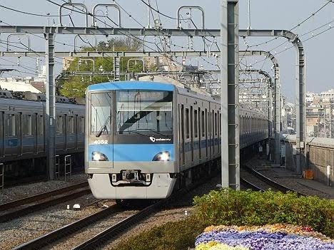 小田急電鉄 千代田線直通 通勤準急 我孫子行き3 4000形(平日3本運行)