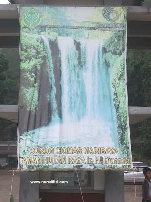 Jalur Penyangga Kehidupan Curug Ciomas Maribaya - Bandung
