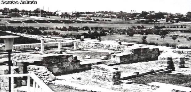 Ruinele cetatii Callatis si orasul Mangalia vechi.