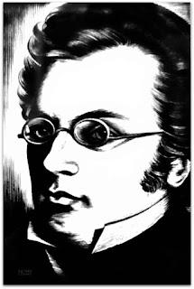 Franz Peter Schubert - Caricaturas Românticas de Sotero Cosme