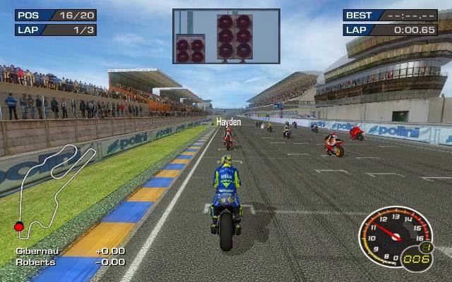 MotoGP 3 URT PC Games Gameplay