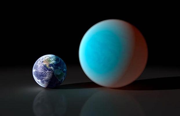 Una súper Tierra hecha de agua
