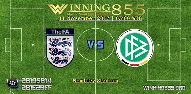 Prediksi Bola Inggris vs Jerman | 11 November 2017
