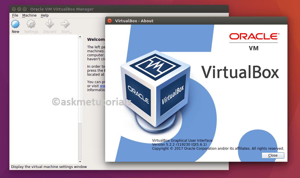 Install Oracle VirtualBox 5 2 2 On Ubuntu 17 04 / LinuxMint