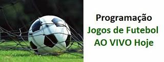 Programação - Futebol hoje ao vivo - 25/09/2017