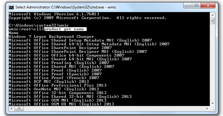 How to Uninstall Programs using Command Prompt in Windows