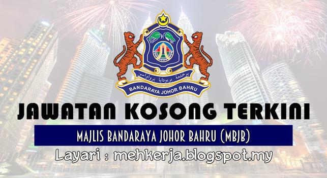 Jawatan Kosong Terkini 2016 di Majlis Bandaraya Johor Bahru (MBJB)