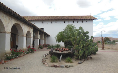 Mission San Miguel, California, looking toward church, © B. Radisavljevic