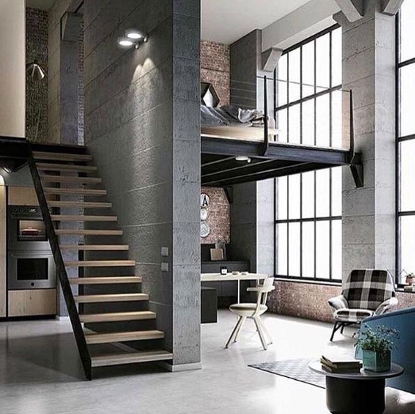 101 planos de casas: Los 20 diseños más asombrosos de loft industrial