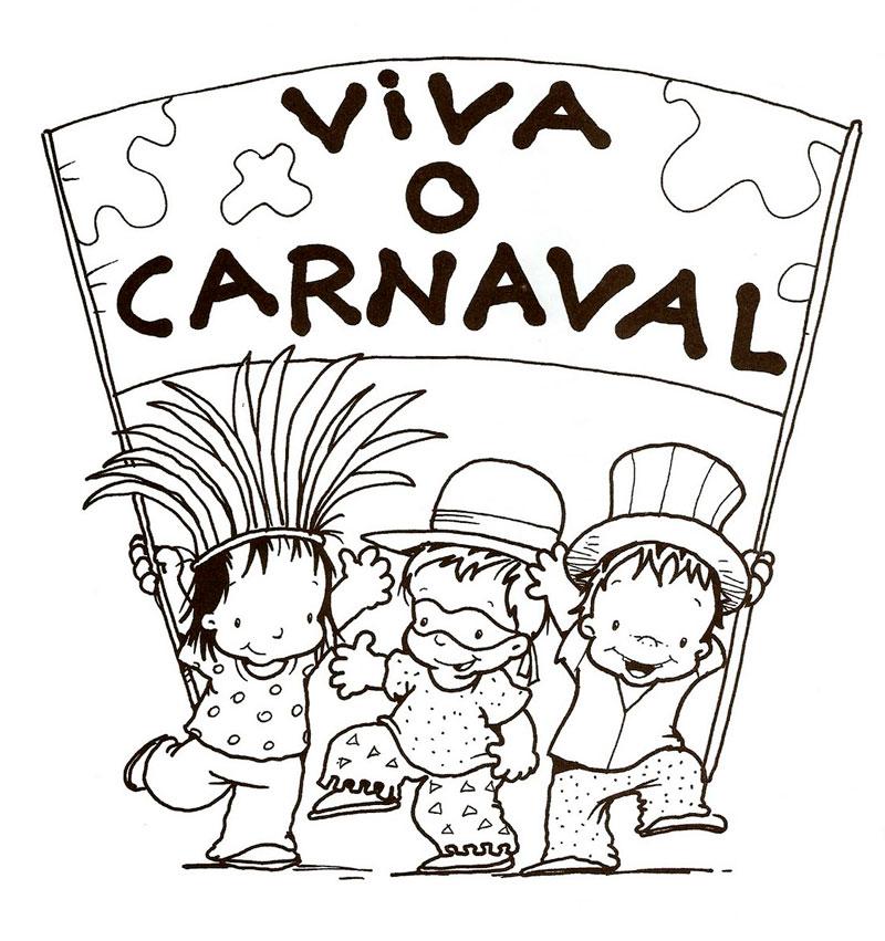 Imagens Para Celular Desenhos De Carnaval Para Imprimir E Colorir