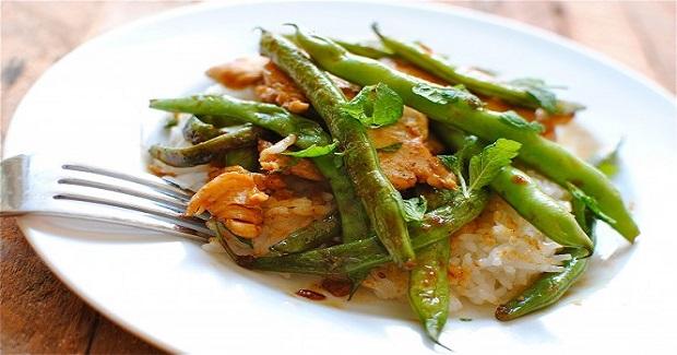 Chcken And Green Bean Stir-Fry Recipe