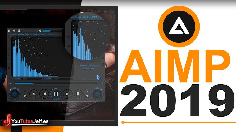Como Descargar AIMP Ultima Versión 2019 FULL ESPAÑOL