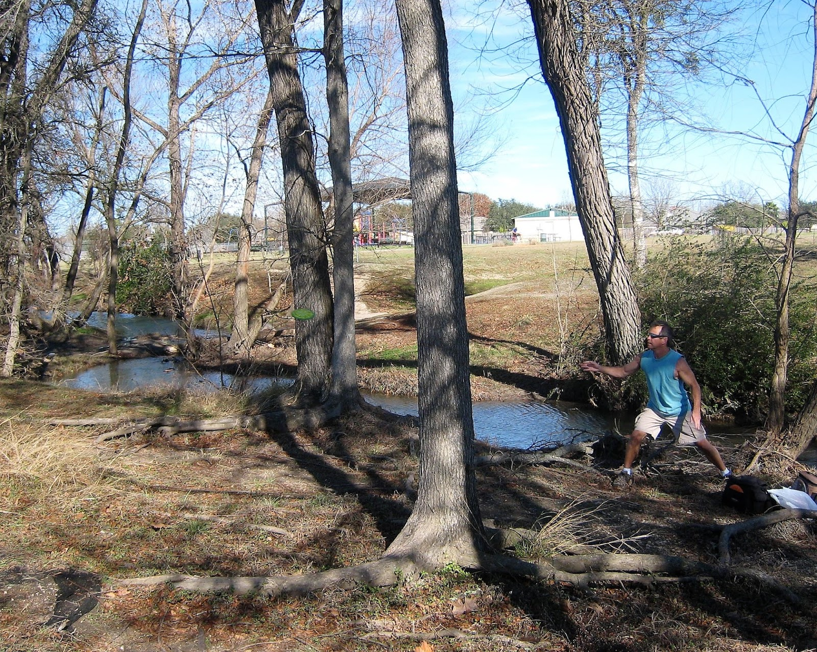 Disc golf journal steeplechase park kyle for Steeple chase