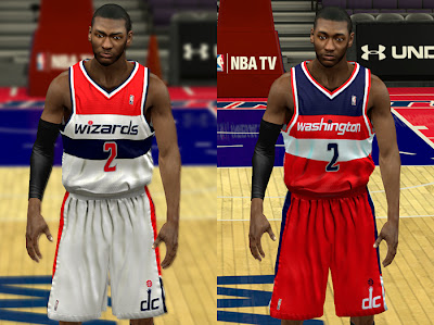 NBA 2K13 Washington Wizards Jersey Patch v2