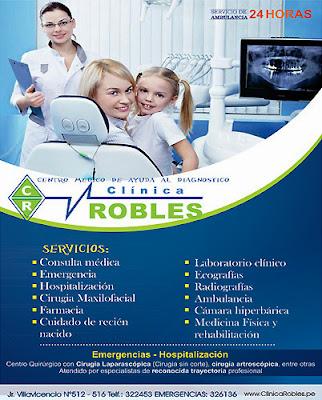 CLÍNICA ROBLES – Centro Médico
