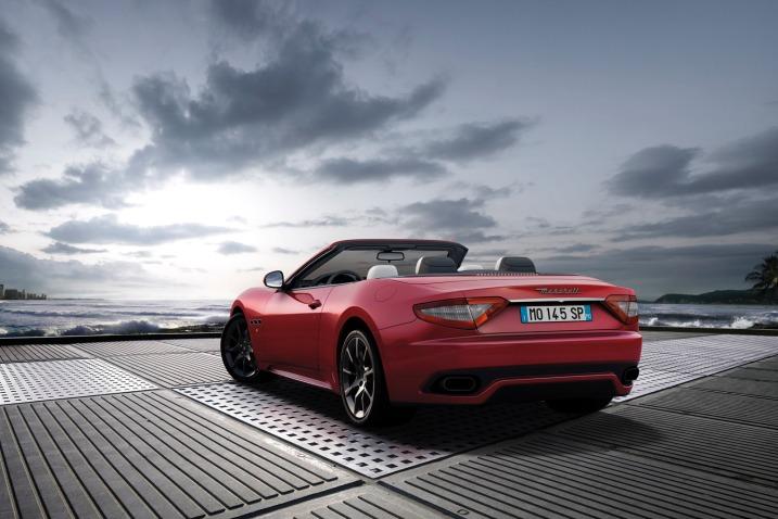 Car 7: 2012 Maserati GranCabrio Convertible Spor