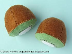 felt kiwi fruit