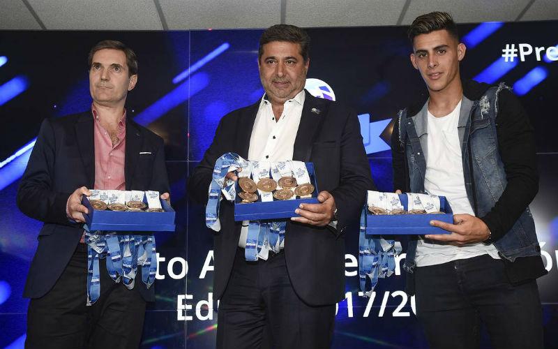 Premios Superliga Argentina Cristian Pavon