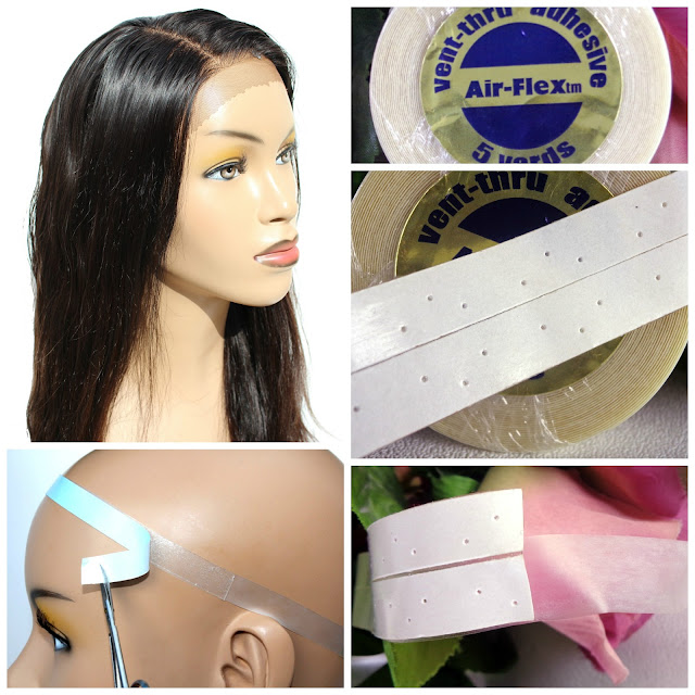 How to Use Lace Wig Tape