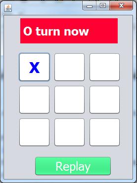 Java Tic Tac Toe Game 1
