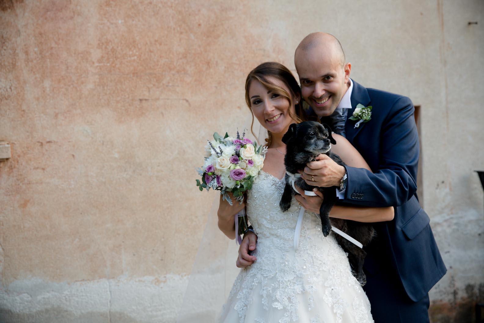 Far partecipare cane al matrimonio