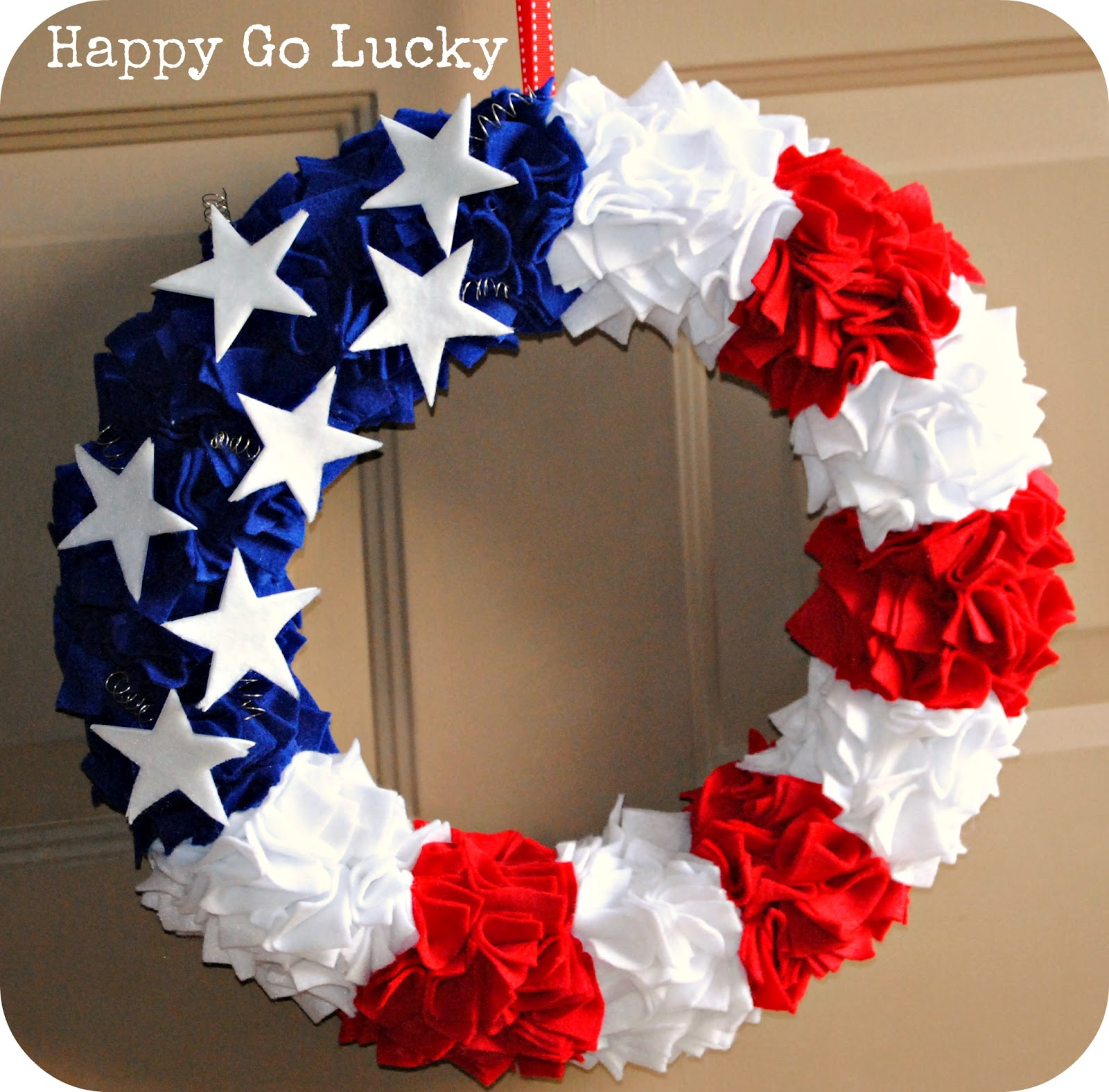 Fourth Of July Wreath And Other Patriotic Ideas Inspired