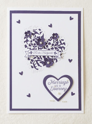 Bloomin Love, wedding card