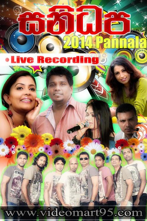 SANIDAPA LIVE IN PANNALA 2014