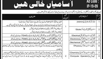 PO Box 1384 Jobs 2019 Public Sector Scientific and Technical Department