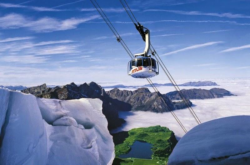 Gunung Titlis Swiss