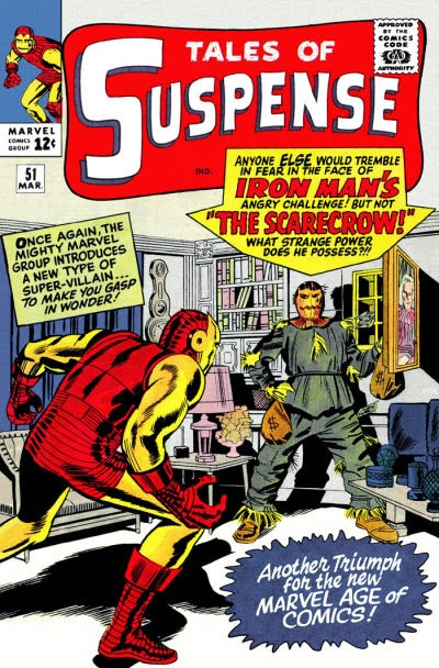 Tales of Suspense #51, Iron Man and the Scarecrow