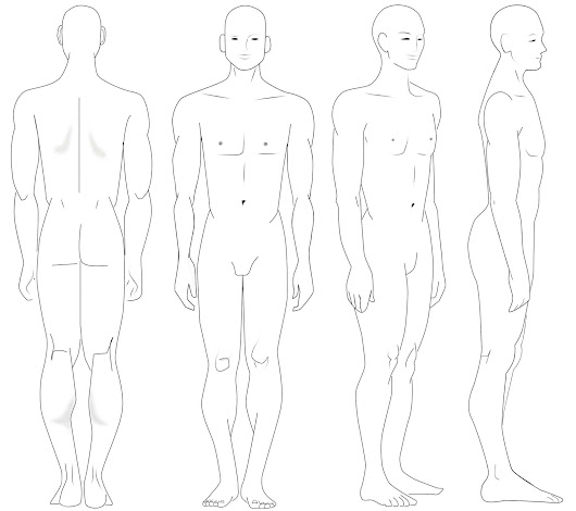 Drawing The Human Figure (Lesson 3/Angles & Proportions)