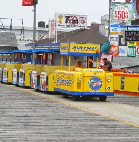 Wildwood Boardwalk Sightseer Tram Car