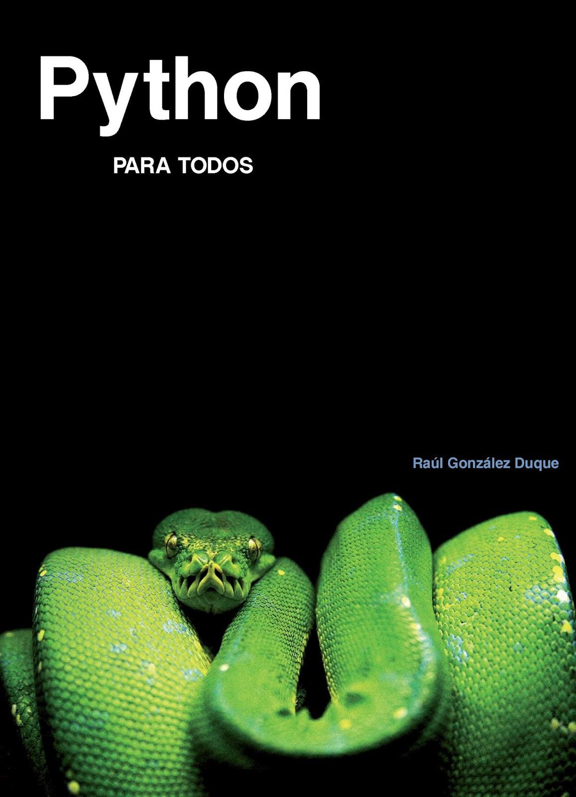 Python para todos – Raúl González Duque