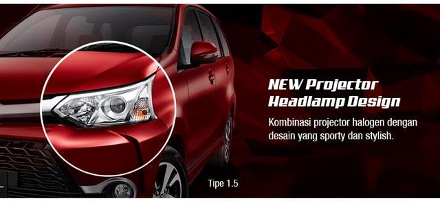 Spesifikasi Grand New Veloz Harga Oli Avanza Type Toyota Trd Exterior