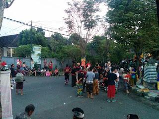 kumpulan foto ogoh-ogoh kota negara kabupaten jembrana