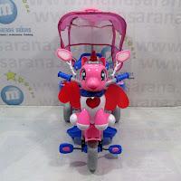 Sepeda roda tiga famili unicorn