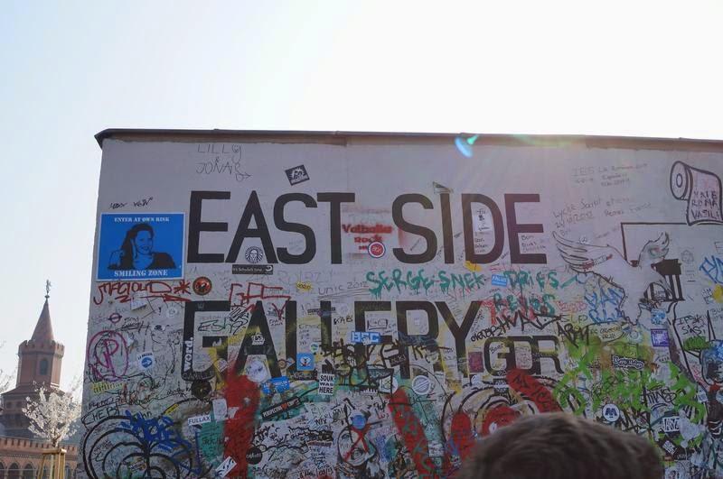 pintada de east side gallery